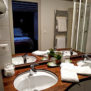 Bathroom | Aurora | Bike & Boat Tours