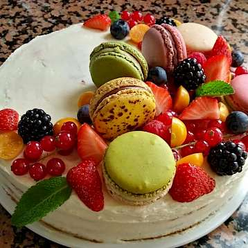Aurora - One of the delicious desserts prepared by the chef | Bike & Boat Tours