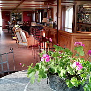 Interior of the Aurora | Bike & Boat Tours