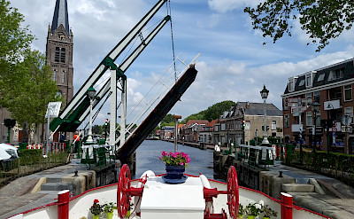 Drawbridges await on the Aurora | Bike & Boat Tours