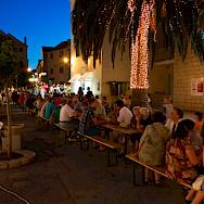 Dining on Brac Island, Dalmatia, Croatia. Flickr:Nikolaj Potanin