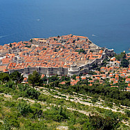 View from the top in Dubrovnik, Croatia. Flickr:Dennis Jarvis