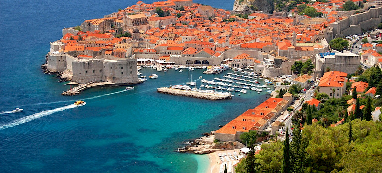Dalmatian coast from Split to Dubrovnik