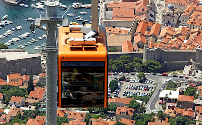 Hiking or cable car to the top in Dubrovnik, Croatia? Flickr:Dennis Jarvis