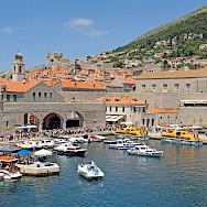 Harbor in Dubrovnik, Croatia. Flickr:Dennis Jarvis