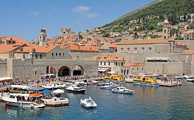 Harbor in Dubrovnik, Croatia. Flickr:Dennis Jarvis