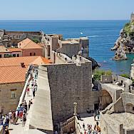 Much to explore in Dubrovnik, Croatia. Flickr:Dennis Jarvis