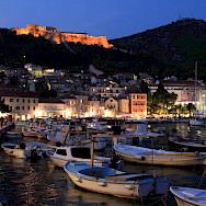 Evening on Hvar Island along the Dalmatian Coast in Croatia. Flickr:Antonio Castagna