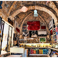 Art shop on Korcula Island on the Adriatic Sea in Croatia. Flickr:Mario Fajt
