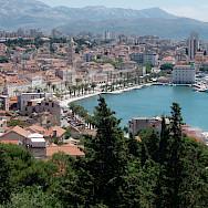 Split along the Dalmatian Coast in Croatia. Flickr:StefanM