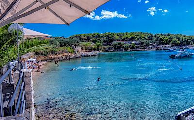 Swimming on Hvar Island, Dalmatia, Croatia. Flickr:Arnie Papp