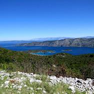 Hiking to Pupnat on the Dalmatian Coast Walking Tour from Split to Dubrovnik in Croatia.