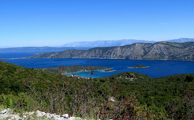 Hiking to Pupnat on the Dalmatian Coast Walking Tour from Split to Dubrovnik in Croatia.