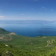 Hiking through Galichica National Park in Macedonia. Flickr:Antony Stanley