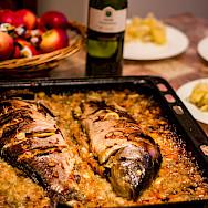 Fresh fish at Lake Prespa in Macedonia, of course. Flickr:Marjan Lazarevski