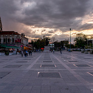 Main square in Prilep, Macedonia. Flickr:Guillaume Speurt