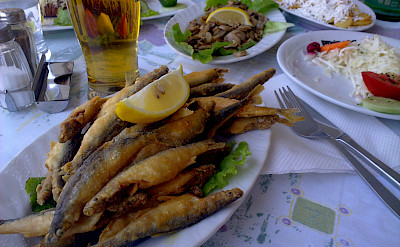 Lunch at Ohrid Lake, Macedonia. Flickr:Antti T. Nissinen
