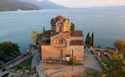 Church of St John the Theologian in Ohrid, Macedonia. Flickr:Julien Maury