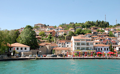 Ohrid, the lakeside resort on Lake Ohrid in Macedonia. Flickr:Xiquinho Silva