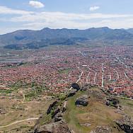 Overlooking Prilep, Macedonia. Flickr:Guillaume Speurt