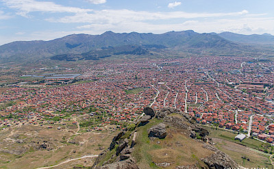 Overlooking Prilep, Macedonia. Flickr:Guillaume Speurt