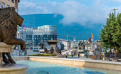 Sightseeing in Skopje, Macedonia on this Hiking Tour. Flickr:Milo van Kovacevic