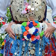 Festival and traditional costumes in Vevchani, Macedonia. Creative Commons:Slavicapanova