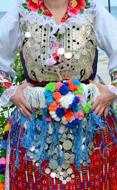 Festival and traditional costumes in Vevchani, Macedonia. Creative Commons:Slavicapanova