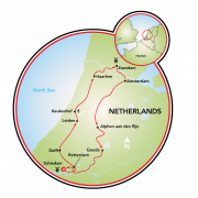 Luxury Highlights of Holland Map