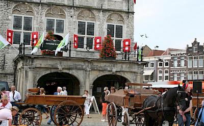 Cheese market in Gouda, South Holland, the Netherlands. Flickr:bertknottenbeld