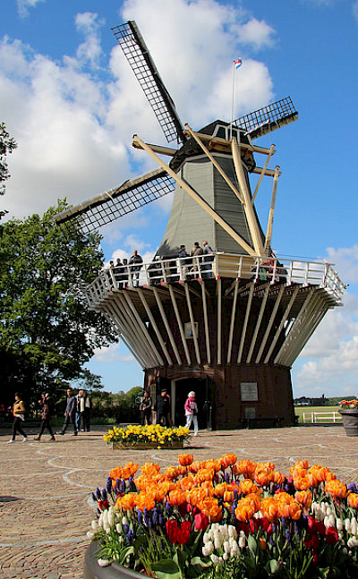 Great windmills in the Netherlands. Flickr:bertknottenbeld