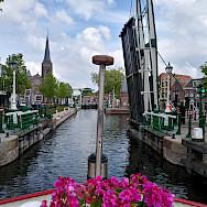 Aurora canal cruising in Holland