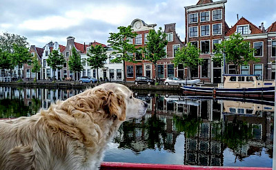 Enjoying the River Cruise in Holland. ©TO