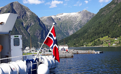 At the quay in Balestrand, Norway.
