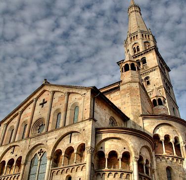Duomo in Modena, Emilia-Romagna, Italy.
