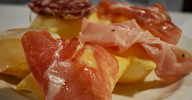 Great meats and cheese in Italy too. Modena, Emilia-Romagna, Italy. Photo via Flickr:Pug Girl