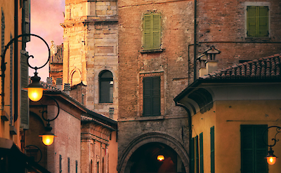 Piazza Antonio Fontanesi, Reggio Emilia, Italy. Photo by Dario Veronesi