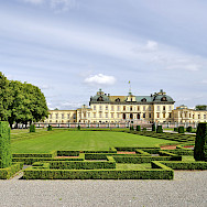 Drottningholm Palace is the private residence of the Swedish Royal Family in Stockholm, Sweden. Photo via TO