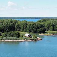 Archipelago in Finland.