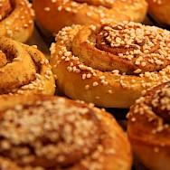 Finnish cinnamon buns.