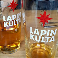 Lapin Kulta is a local Finnish beer. Flickr:daniel julia lundgren
