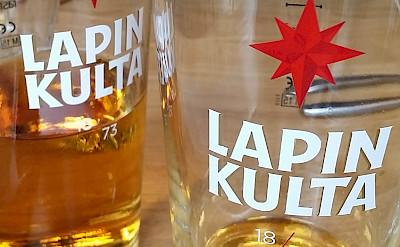 Lapin Kulta is a local Finnish beer. Flickr:daniel julia lundgren