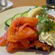 Smoked salmon is so good in Finland! Flickr:junseita