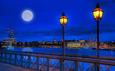 Evening in Stockholm, Sweden. Flickr:Tobias Lindman
