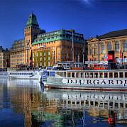 Helsinque a Estocolmo Foto