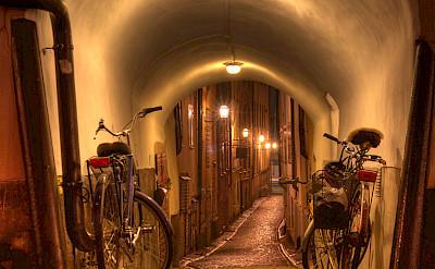 Bike rest in Stockholm, Sweden. Flickr:Michael Caven