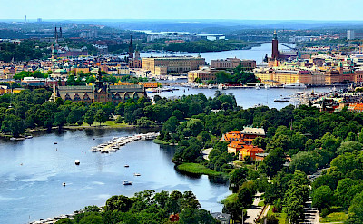 Beautiful Stockholm, Sweden.