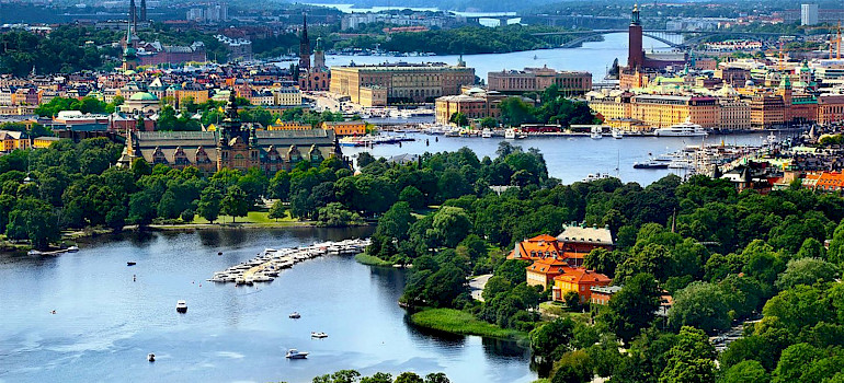 Beautiful Stockholm, Sweden.