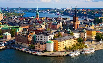 Overlooking Stockholm, Sweden.