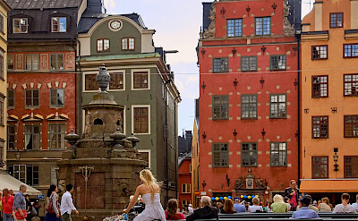 Old Town Square in Stockholm, Sweden. Flickr:Pedro Szekely